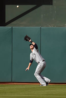 Photograph - Seattle Mariners V Oakland Athletics - by Thearon W. Henderson