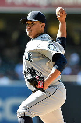 Photograph - Seattle Mariners V San Diego Padres by Denis Poroy