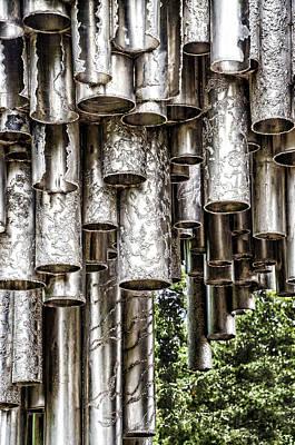 Sibelius Pipe Monument - Helsinki Finland Print by Jon Berghoff