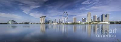 Singapore City Art Print