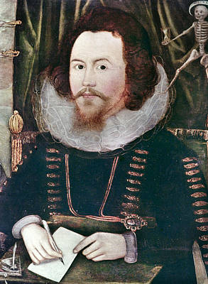 1596 Painting - Sir Henry Unton (c1557-1596) by Granger