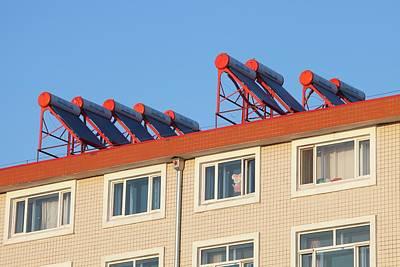 Solar Thermal Panels Art Print