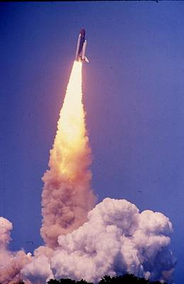 Space Shuttle Challenger  Art Print by Retro Images Archive