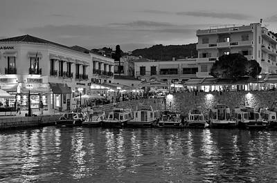 Light Photograph - Spetses Town by George Atsametakis
