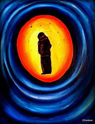 Spiritual Journey Painting - Spiritual Journey-1 by Carmen Cordova