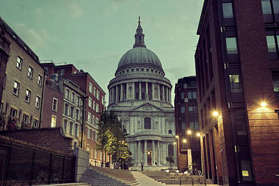 Photograph - St Pauls London by Songquan Deng
