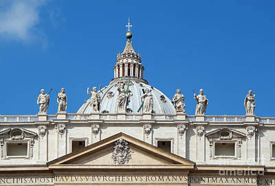 Photograph - St Peter In Vatican by George Atsametakis