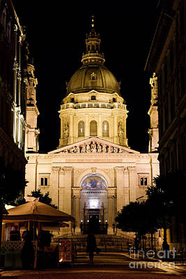 St. Stephen's Basilica In Budapest Art Print by Michal Bednarek