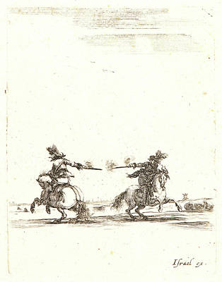 Stefano Della Bella Italian Art Print