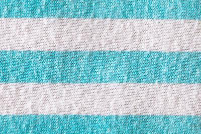Striped Cloth Art Print