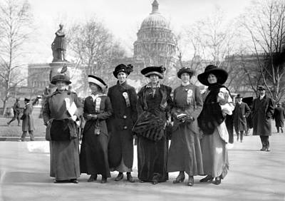Althea Photograph - Suffragettes, 1913 by Granger