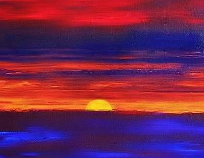 Painting - Sunset 2004 by Karl Leonhardtsberger