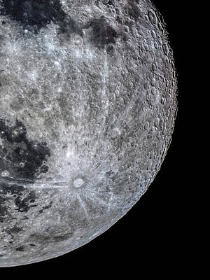 Surface Of The Moon Art Print