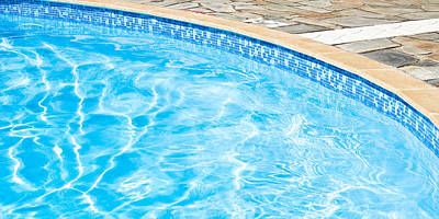 Swimming Pool Art Print by Tom Gowanlock