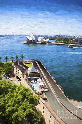 Sydney Harbour Art Print by Avalon Fine Art Photography