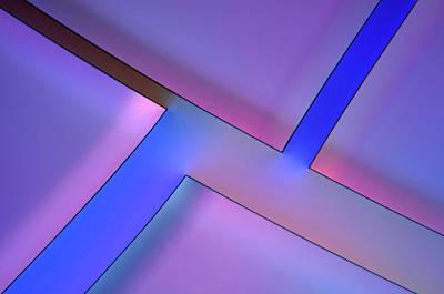 Tannic Acid Crystals Art Print