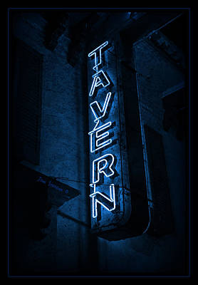 Photograph - Tavern Blues by John Stephens