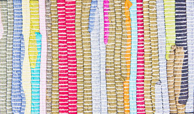Crochet Thread Photograph - Textile Pattern by Tom Gowanlock