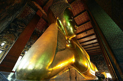 Thailand, Bangkok, Wat Pho, Buddhist Print by Tips Images