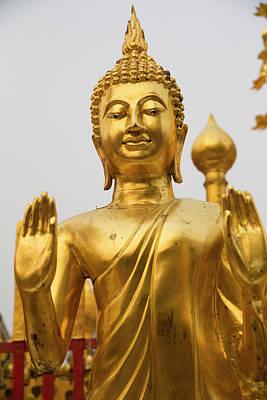 Doi Photograph - Thailand, Chiang Mai Province, Wat Phra by Emily Wilson