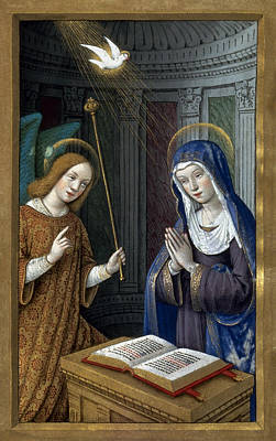 Painting - The Annunciation by Granger