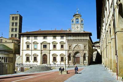 The Building Of Fraternita Dei Laici Art Print by Nico Tondini