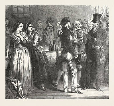 The Count Of Monte Christo Alexandre Dumas, 1844 Art Print