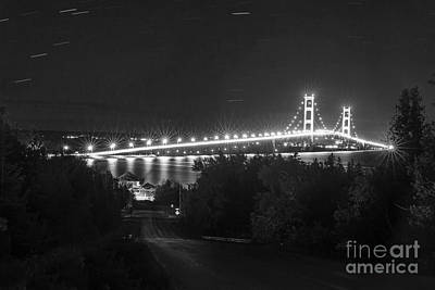 The Mackinac Bridge Art Print