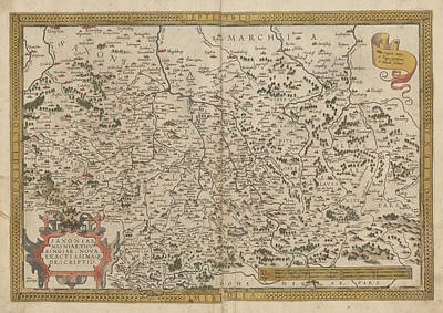 Cartography Photograph - The Mercator Atlas Of Europe by British Library
