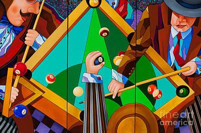 Painting - The Pool by Igor Postash