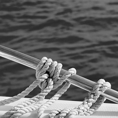 Photograph - The Ropes by Laura Fasulo