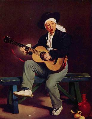 Singer Painting - The Spanish Singer by Celestial Images