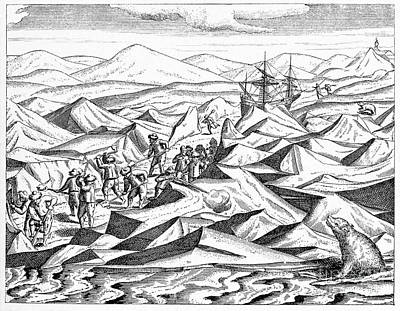 Veer Photograph - Third Barents Arctic Expedition, 1596 by CCI Archives