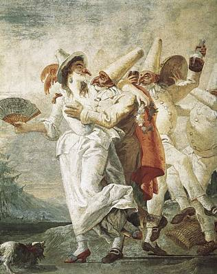 Tiepolo, Giovanni Domenico 1727-1804 Art Print