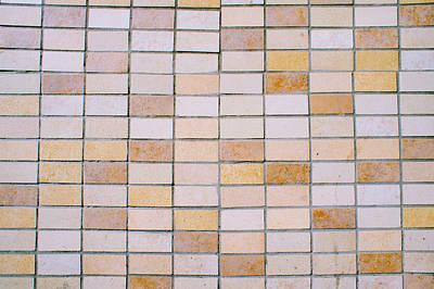 Tiles Background Art Print by Tom Gowanlock