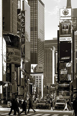 America Photograph - Times Square by RicardMN Photography