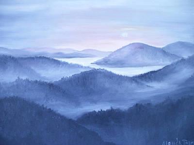 Tranquility Art Print by Glenda Barrett