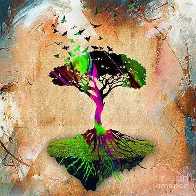 Tree Of Life Art Print by Marvin Blaine