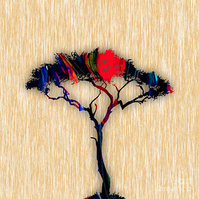 Tree Wall Art Art Print by Marvin Blaine