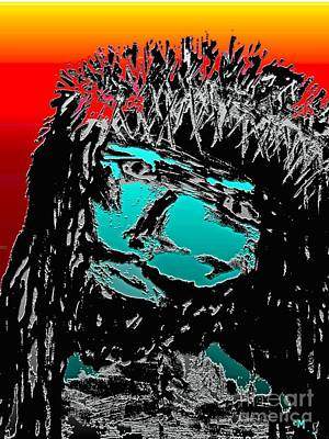 Prince Of Peace Mixed Media - 4 U 4 Me by Everette McMahan jr