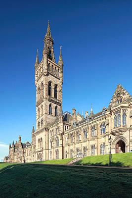 University Of Glasgow Print by Grant Glendinning