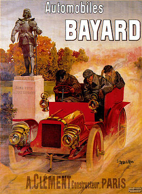 Vintage Buick Rights Managed Images - Bayard Automobiles Royalty-Free Image by Unknown