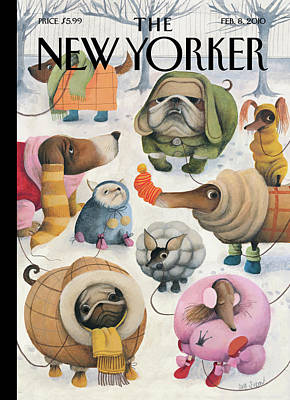 New Yorker February 8th, 2010 Art Print