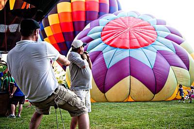 Photograph - Raise The Balloon by Mirian Hubbard