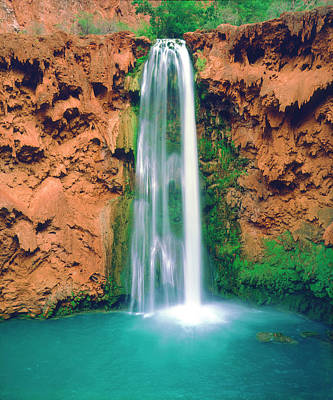 Havasupai Photograph - Usa, Arizona, Havasupai Indian by Jaynes Gallery