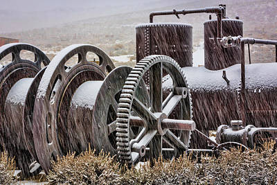 Machinery Photograph - Usa, California, Bodie by Jaynes Gallery