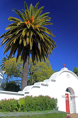 Mission San Luis Rey Photograph - Usa, California, Oceanside by Kymri Wilt