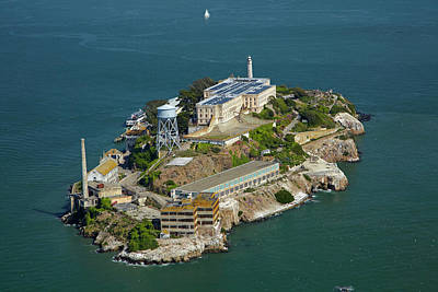 Alcatraz Photograph - Usa, California, San Francisco by David Wall