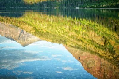 Schwarz Photograph - Usa, Montana, Glacier National Park by Rona Schwarz