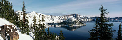 Crater Lake National Park Photograph - Usa, Oregon, Crater Lake National Park by Paul Souders